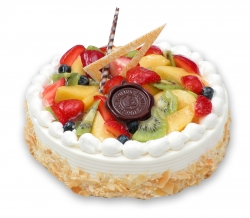 Fresh Fruit Cake- 1 Kg-2lbs