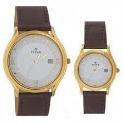 Titan Bandhan 19592959YL01Pair Watch