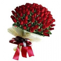 50 Red Rose Bunch