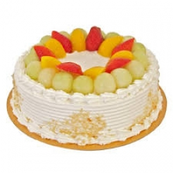 Fresh Fruit Cake - 1Kg