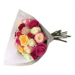 Multicolor Roses Bunch