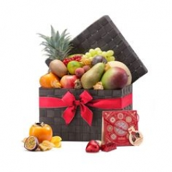 Fresh Fruit N Chocolate Hamper