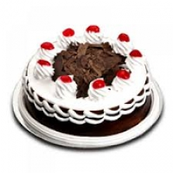 Eggless Black Forest Cake - 1/2 Kg