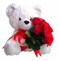 Red Roses N Teddy