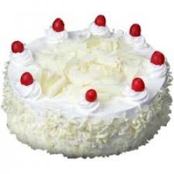 White Forest Cake - 1/2 Kg