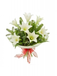 Pure White Flower Arrangement