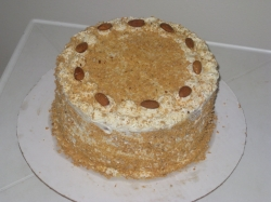 Butterscotch Cake  2 Kg Or 4 Pound