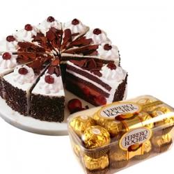 Chocolate N Cake Combo
