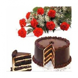 Carnation N Cake