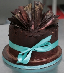 Dark Chocolate Cake  2 Kg Or 4 Pound