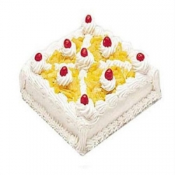 Pineapple Cake - 2 Kg Or 4 Pound