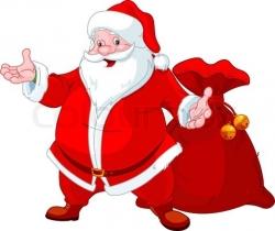 Santa  Claus 1 Feet