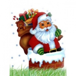 Santa Wishes Basket