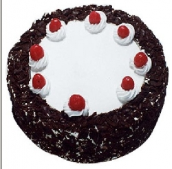 Eggless Black Forest Cake  1 Pound
