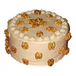 Eggless  Butterscotch Cake 1 Kg
