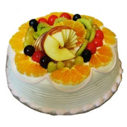 Fresh Fruit Cake - 1 Kg Or 2 Pound