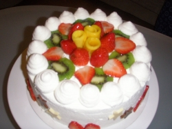 Fresh Fruit Cake - 2 Kg Or 4 Pound