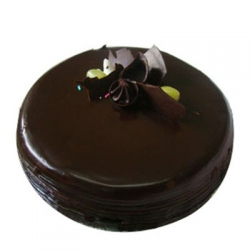 Eggless Dark Chocolate Cake -  2kg