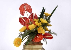 Exotic Flower Arrangement-01