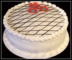 Eggless Vanilla Cake - 1kg