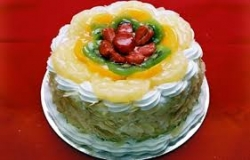 Fresh Fruit Cake- 1 Kg