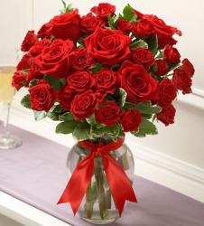 25  Red Premium Rose Vase