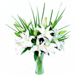 White Flower Arrangement - 20