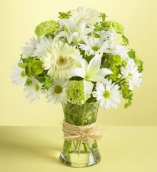 White Flower Arrangement-02