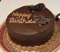 Chocolate Cake-  1 Lbs -1/2 Kg