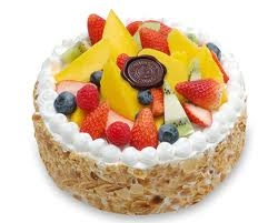 Fresh Fruit Cake- 1 Lbs--1/2 Kg