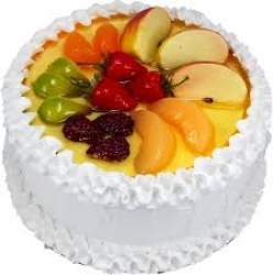 Fresh Fruit Cake- 2 Lbs--1 Kg