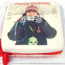 Photo Printed Cake - 1 Kg