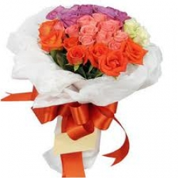 100 Mix Color Rose Bouquet